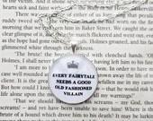 Every fairytale  - Sherlock Fandom Necklace (Curious Owl)