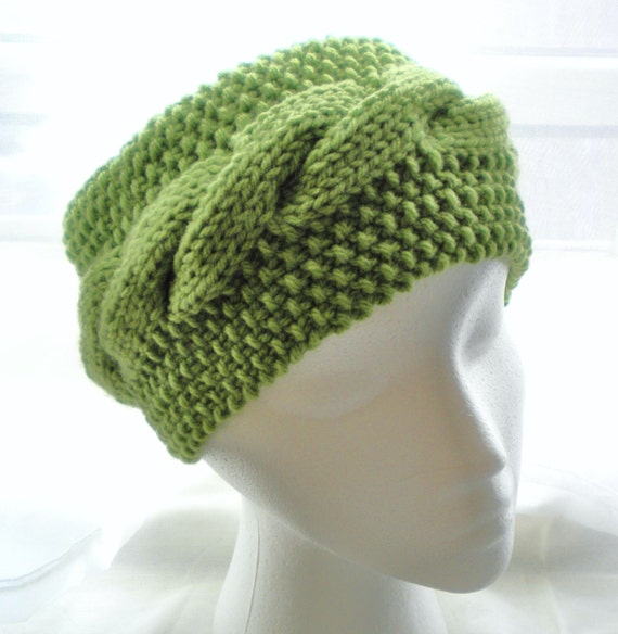 Knitting Pattern Cable Knit Headband : Knit HEADBAND PATTERN Cabled Unisex