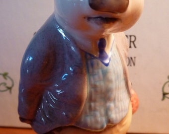 PIGLING BLAND 1989 Beatrix Potter Figurine England