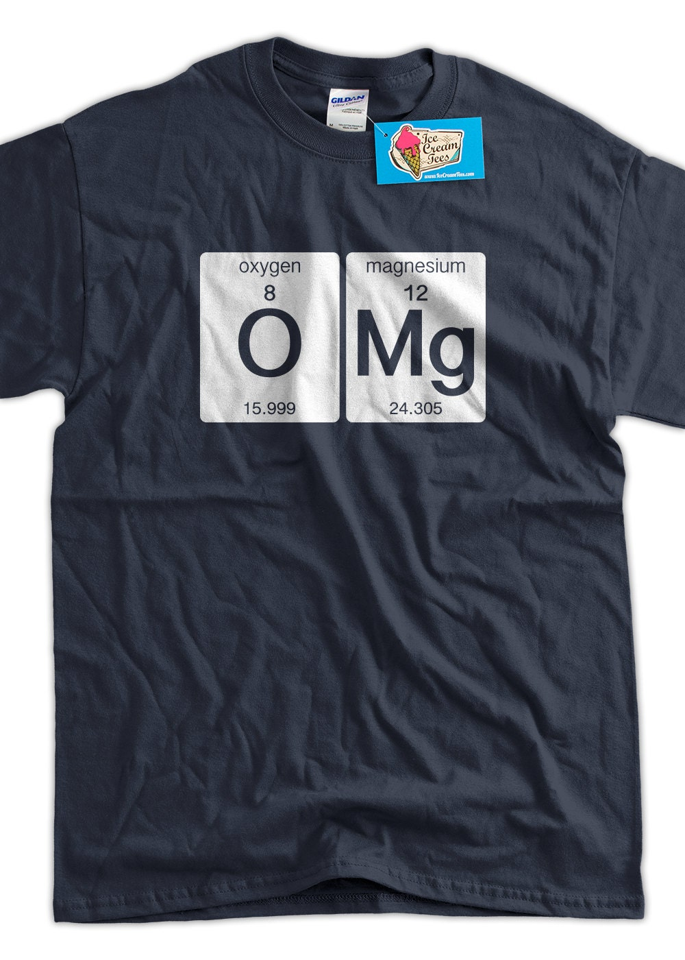 Funny Science T Shirt Omg T Shirt Oxygen Magnesium Funny Geek