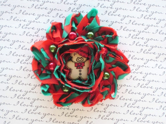 Christmas Red and Green Newborn Headband, Baby Headband,Toddler Hair Clip,Girls Hair Clip,Teen and Adult Hair Clip,Photo Prop!