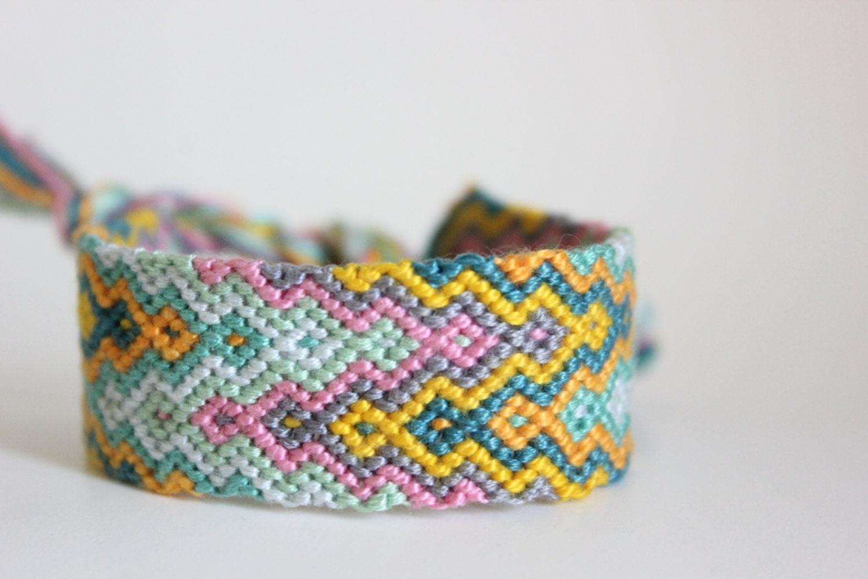 arrowhead friendship bracelet by colorfuldelight on