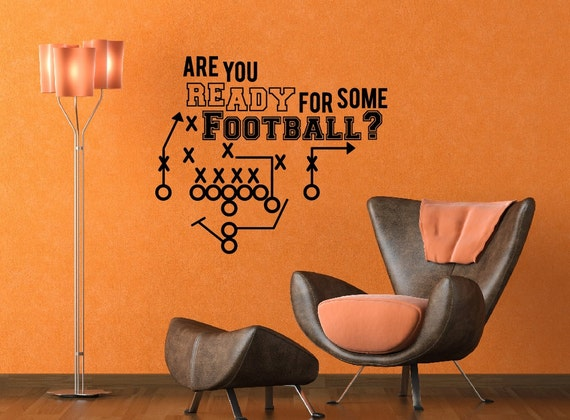 Man Cave Wall Decor : Items similar to man cave decor vinyl wall decal