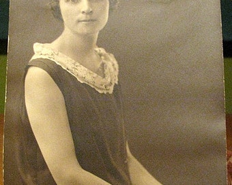 Vintage Photo of Young Lady