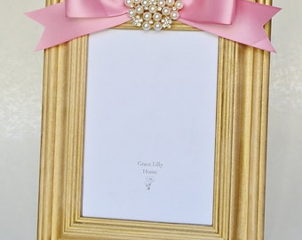 Mother's Day Gift Picture Frame Pink-CHOOSE your Size 4x6, 5x7, 8x10