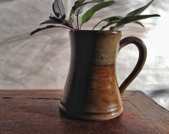 Brown and Tan Mug