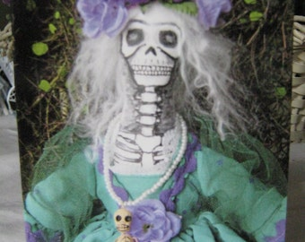 Catrina Day of the Dead Note Card Photo Note Cards