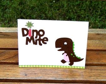 Dino Mite Blank Card