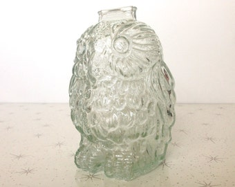 Popular items for wise old owl on etsy - Wise old owl glass bank ...