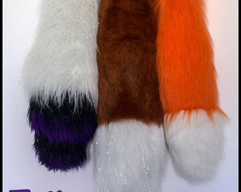 Cosplay Tail - Fox, Wolf, Cat - Made To Order