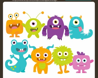 Image result for monster clipart cute