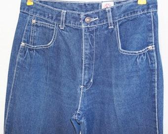 1980s Lawman Jeans 32x34.5 Vintage Retro