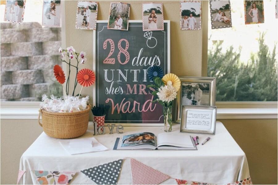 Wedding Bridal Shower Days until shes Mrs Sign Wedding