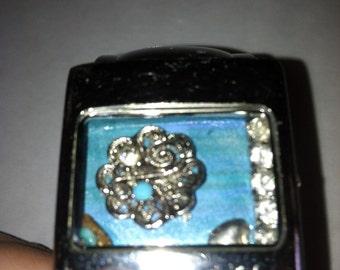 Upcycled bracelet cuff uniquely designed