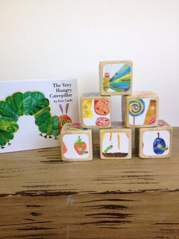 The Very Hungry Caterpillar Gift Set By Storybookblocks
