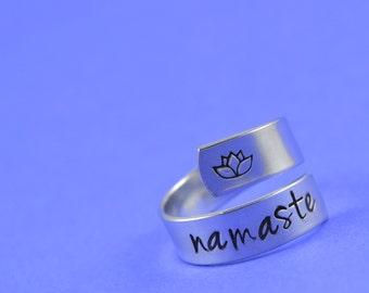 Namaste Wrap Ring - Yoga