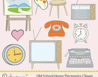 Old School Home Electronics