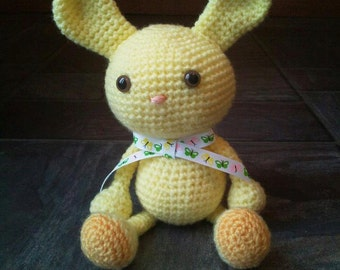 Crochet Rabbit - Bunny Wabbit - Handmade Easter