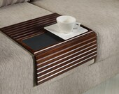Couchmaid Table Top Original Sofa Tray Walnut Multi Purpose Hand Crafted