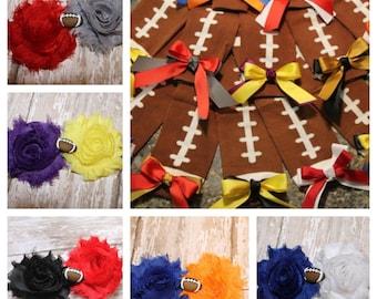 Football Leg Warmers and Headband, Girls Football Leg Warmers and Headband Set, Baby girl football
