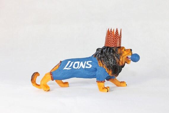 Detroit Lions Cake Topper
