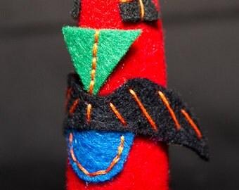 Lenny - finger puppet