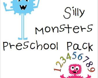 Free Worksheets preschool activities printables : Preschool worksheets | Etsy