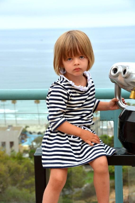 Child's Sewing Pattern: Bateau Neck Dress Pattern EXTENSION in sizes 18m to 10 (PDF Digital Pattern)