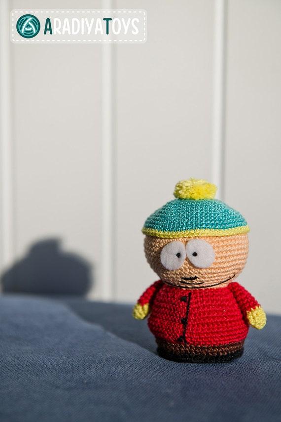 Amigurumi Cartman : Crochet Pattern of Eric Cartman from South Park by Aradiya ...