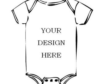 "We ""CustoMYze"" - Design your own onesie!"