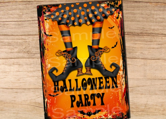 With the rising popularity of Halloween parties, calendars are filling early, so get your invitations out weeks in advance. From fearfully fun to frighteningly freaky, our Halloween Invitations will snatch the attention of your guests, whether they receive them as an email or printed snail-mail.