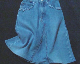 Childrens Converted Jean Skirt