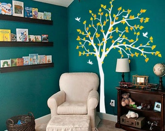 Vinyl Wall Decal Nature Design Tree Wall Decals Wall stickers Nursery wall decal wall art  K012