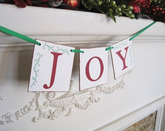 Joy Banner, Christmas banner, Christmas Sign, joy to the world sign, holiday decorations, Christmas decorations, joy to the world banner