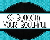 KG Beneath Your Beautiful Font Set (Commercial License for One User)