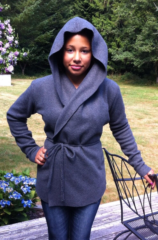 Baby Fleece Jacket With Hood Hooded Fleece Wrap Jacket