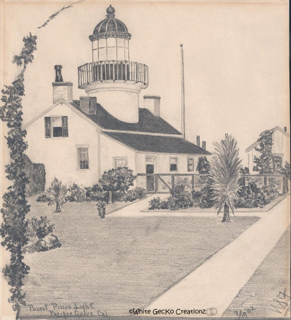 Point Pinos Light, Pacific Grove , California
