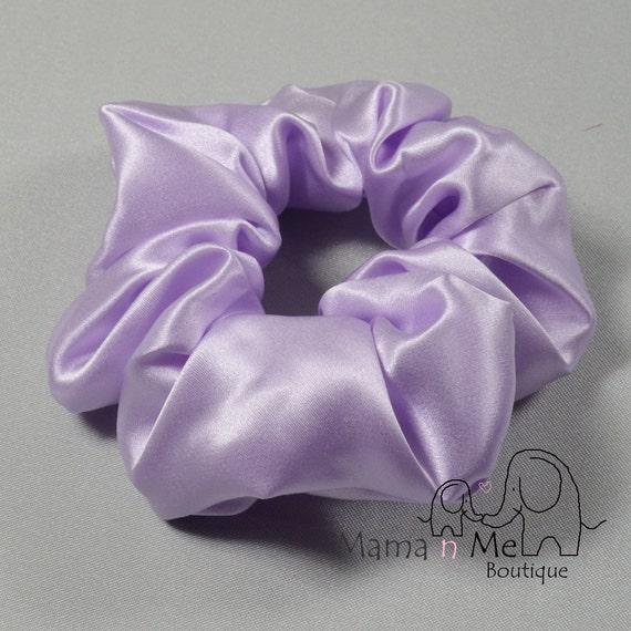 Silk Scrunchies For Natural Hair