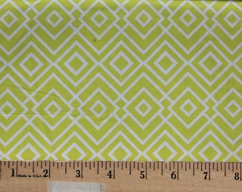 1/2 Yard -Theory - Geometric Neon Citron - Khristian A. Howell - Anthology Fabrics