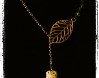 Vintage Style Owl Necklace