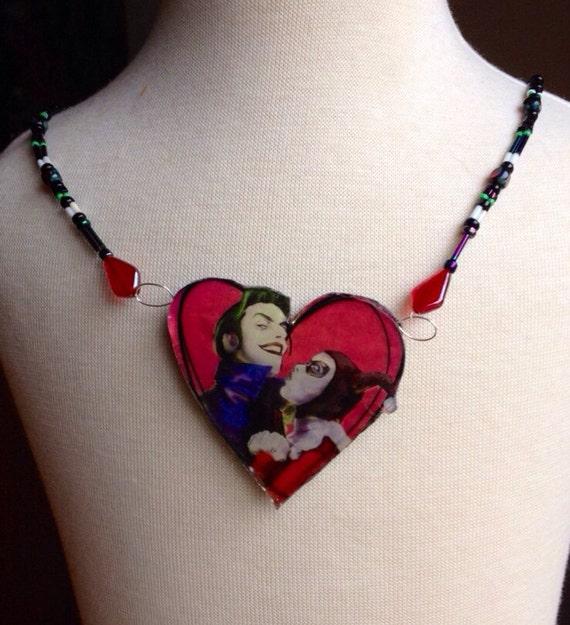 Joker and harley quinn for Harley quinn and joker jewelry