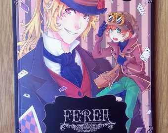 "Fanzine FEREA N.1 - Contiene: Primo capitolo del fumetto ""Racers"" e la light novel ""Séline"""