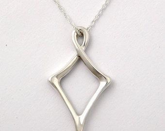 Sterling Silver Original Kite Necklace