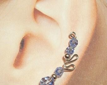 Climbing Vine Earrings - Butterfly style