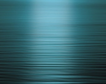Teal Blue Sea at Sunset, Nature Photography, Landscape Photography, Wall Art Print, Turquoise Ocean, Cyan, Aqua