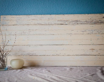 Blank Wood Sign - Rustic Chippy Reclaimed Vintage Beadboard