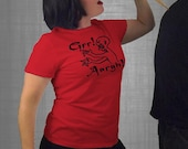 buffy the vampire slayer . grr aargh tshirt . womens fitted t-shirt