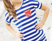 Dolman Top PDF Sewing Pattern - Skipper Top Pattern by Sew Much Ado - Girls' Sizes 6m-10
