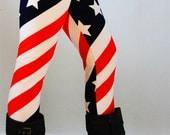 FREE SHIPPING for 2 !! Womens leggings, usa Leggings, Yoga Leggings, printed Leggings,tribal leggings, skull leggings, workout leggings