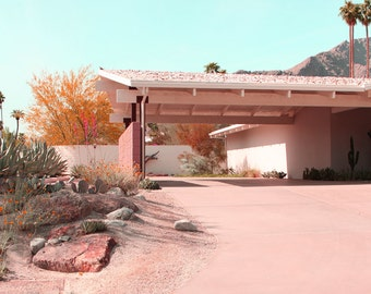 Desert Home Mid Century Modern Architectural Photography